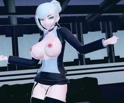 MMD Hookup RWBY Big Breasted Winter Schnee Dances In Chung Ha