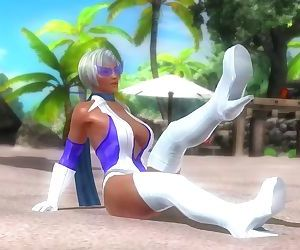 Dead or alive 5 Lisa hot Milf provocative walking in..