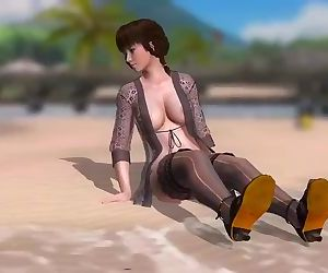 Dead or Alive 5 1.09BH - Leifang Arrives at the Beach w/..