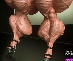 Muscle Overwatch adult 3d porn game