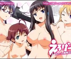 Eroge! H mo Game mo Kaihatsu Zanmai Uncensored EP.01