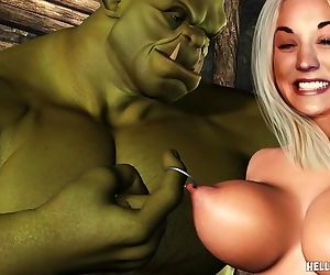 Goblin Troll Monsters Fuck Celebs 3D Hentai