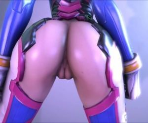 Overwatch Small Teen give blowjob