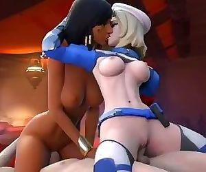 Overwatch - Mercy and Pharah Arhoangel