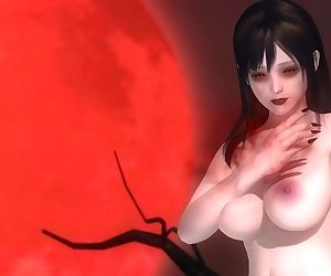 Dead or Alive 5 1.09BH - Vampire Honoka Victory Pose #2..