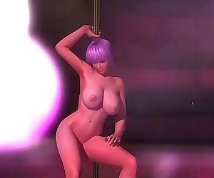 Ayane Pole Dancing 41 sec HD
