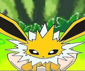 Pokemon Eevolutions Riding Outdoors 5 min