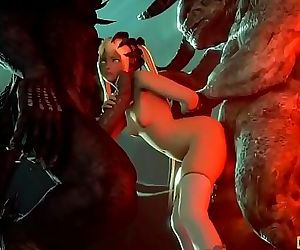 Hardcore Monster Fuck Compilation Naughty3D.net 6 min HD