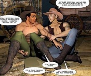 HOW THE WEST WAS HUNG 3D Gay Cartoon Anime Comics or Gay..