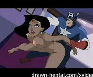 X-Men Porn - Wolverine against Rogue... many times - 5 min