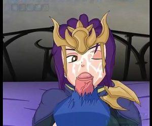 Quinn fuckingLeague of legends hentai