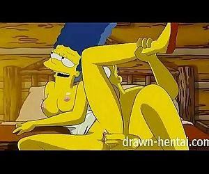 Simpsons Hentai - Cabin of love - 7 min