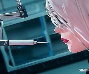 2B Nier Automata Hentai 3D 23 min