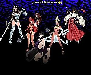 Queens Blade Flash Game Fuck 2 min