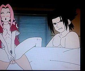 Naruto Dating Sim Sasukes ending - 22 sec