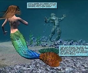 3D Comic: Mermaid - 7 min