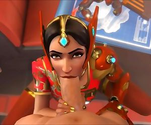 Overwatch Symmetra Blowjob