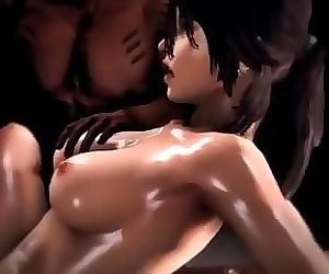 Lara Croft from Tomb Raider Lara in Trouble-Studio FOW clip2