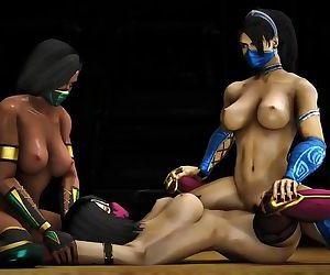 Mortal kombat girls lesbian time