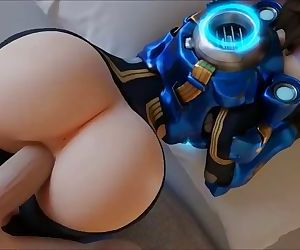 Overwatch Tracer Big ass POV