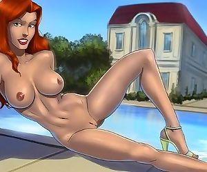 X-men women are horny