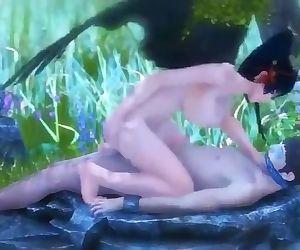 Nyotengu hot fuck 3d hentai