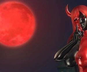 Dead or Alive 5 1.09 - Devil Honoka Victory Pose #1 Happy..