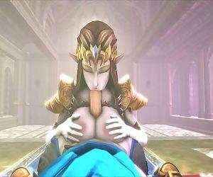 Zelda - Princess Tri-fuck compilation