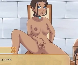 Four Element Trainer Part 5 Katara Masturbation by..