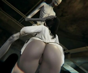 SCP-096 Breach Containment to Fuck Busty Girl - 3D -