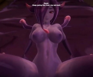 BIG TIT SLIME GIRL GETS FUCKED HARD AND DOMINATED! Monster..