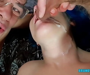I Jizz in the Gullet of the Youthful Chick and then her..