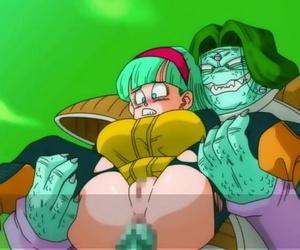 Bulma Booty-eating 3Bulma gets gangbanged by the Ginyu..