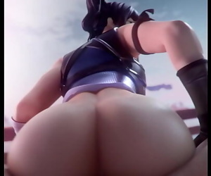 Crystal (Fortnite) Takes A Cock Up Her Booty 13 sec 720p