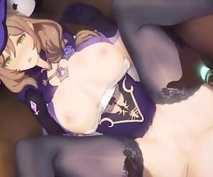 Genshin Impact Lisa Mind Manage Pound (HentaiSpark.com) 2..