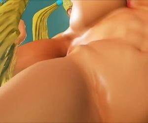 Rainbow Mika and Chun Li Nude Mod Good Appreciation