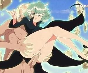 Tatsumaki - one Punch Stud by BLUETHEBONE