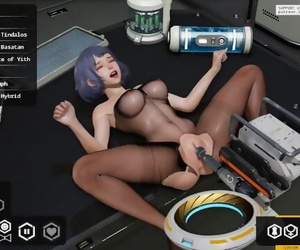 FallenDoll2 - Part01 : Alet get Nailed by Robot and she..