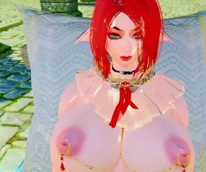 Skyrim Cammi Fat Hooters and Ass on the Beach