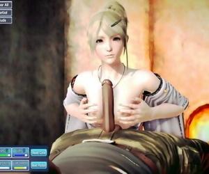 Lunafreya Sex Scene
