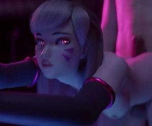 D.Va Overwatch Hard Nail Animation