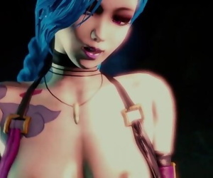 Jinx Hookup with Creampie with Sound
