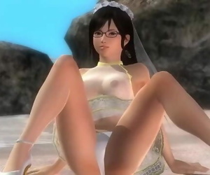 Dead or Alive 5 1.09 - Kokoro Pile Dancing on the Beach W/..