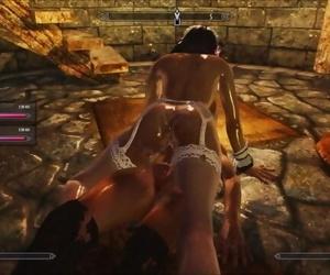 Skyrim Collision Sex Riekling and Futa