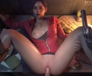 CLAIRE REDFILED SAVE Backsides PUSSY FUCK 5 MINUTES..