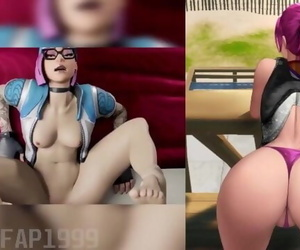 Ultimate Fortnite NSFW Compilation -101 Pics + Movie