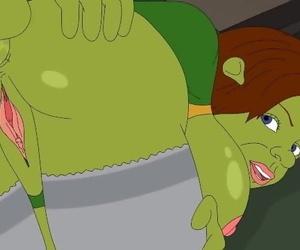 Hentai Shrek and Fiona Porn Hot - the greatest Video
