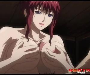 Hentai Pros - Anime Redhead Gets Creampied