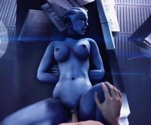 Liara Fall Mass Effect
