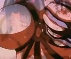 Tied-Up Hentai Stunner W/ Huge-Boobs